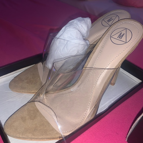Missguided Shoes - Nude heels